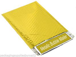 "Metallic Glamour Bubble Mailers Envelopes Bags - 16"" X 17.5"" Gold 300 Pi... - $412.88"