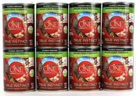 8 Purina One Smart Blend True Instinct Nutrient Dense Grain Free Formula... - $27.99