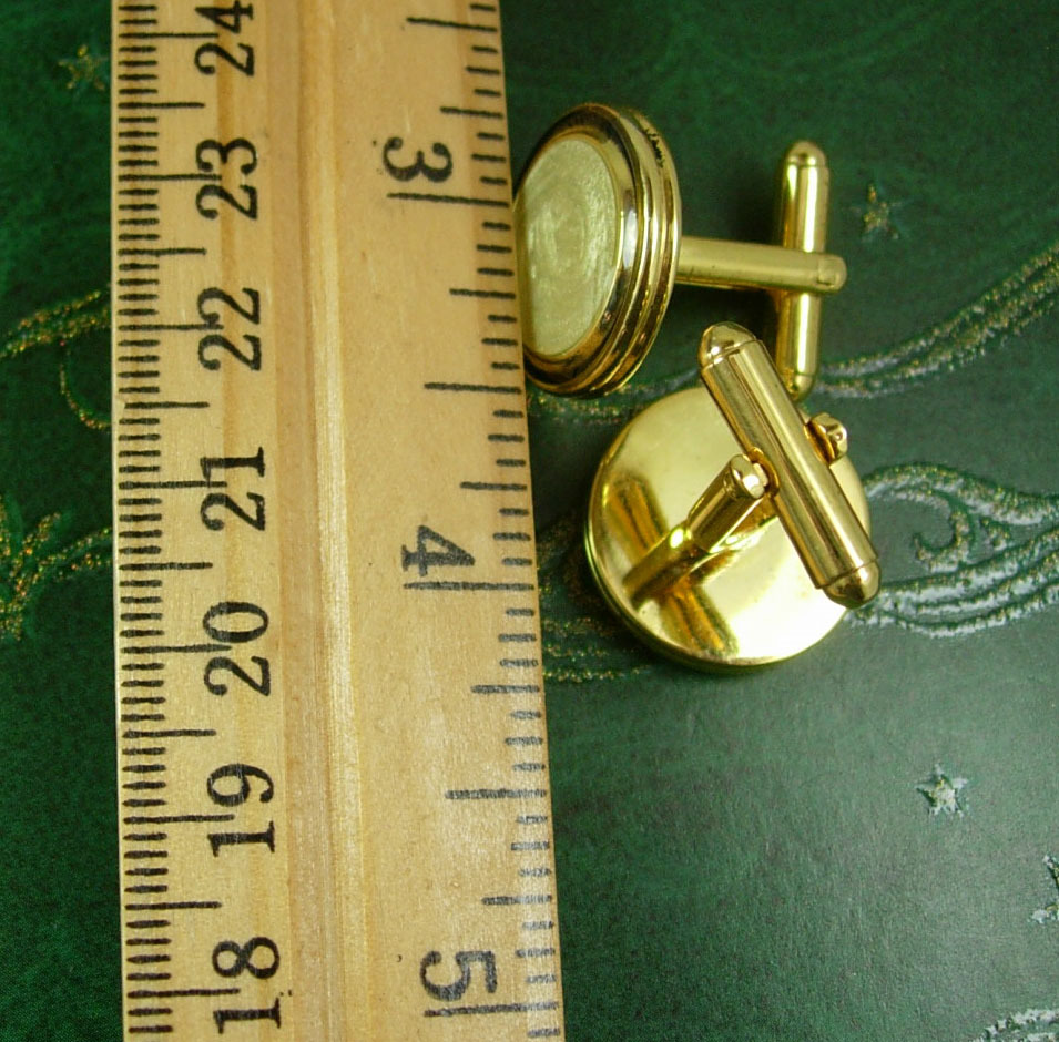 Black Tuxedo Cuff links Classy enamel  wedding Cufflinks  Fine jewelry gold form