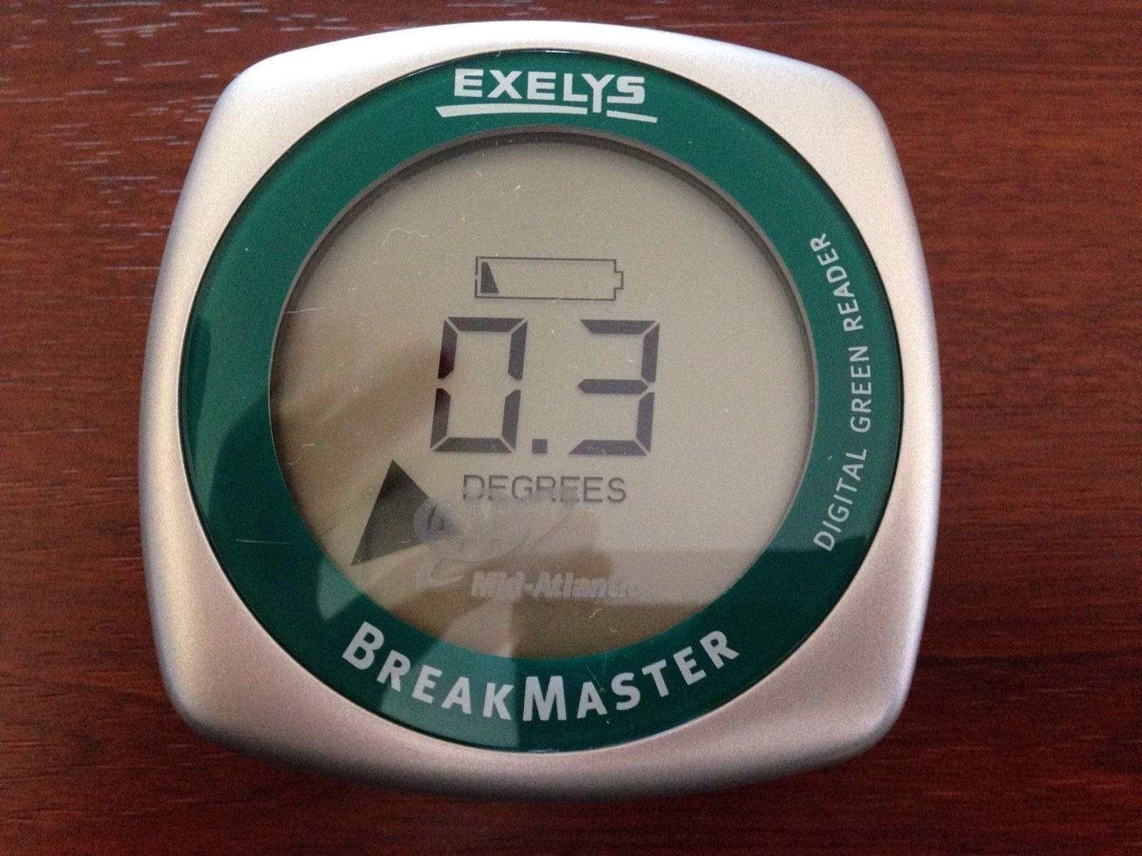 BreakmasterGolfExelysGreenReaderTrainingAidManual