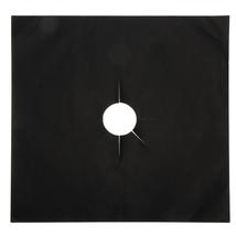 (black)270 x 270mm Reusable Aluminum Foil 4pcs/lot Gas Stove Protectors ... - $18.00