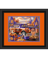 "Clemson University Tigers ""Tailgate Celebration"" -15 x 18 Framed Photo - $39.95"