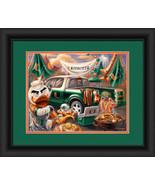 "University of Miami Hurricanes ""Tailgate Celebration"" - 15 x 18 Framed P... - $39.95"