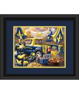 "University of Michigan Wolverines ""Tailgate Celebration"" - 15 x 18 Frame... - $39.95"