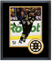 Zdeno Chara 2014-15 Boston Bruins - 11 x 14 Team Logo Matted/Framed Photo - $42.95