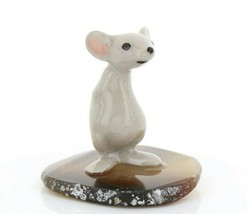 Hagen Renaker Miniature Little Brother Mouse on Base Stepping Stones #2740