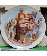 "1985 Collector Plate, Joseph Csatari, ""The Patriots' Parade"" Original Bo... - $9.95"