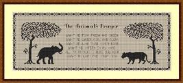 The Animal's Prayer cross stitch chart Stitchers Anon Designs - $10.00