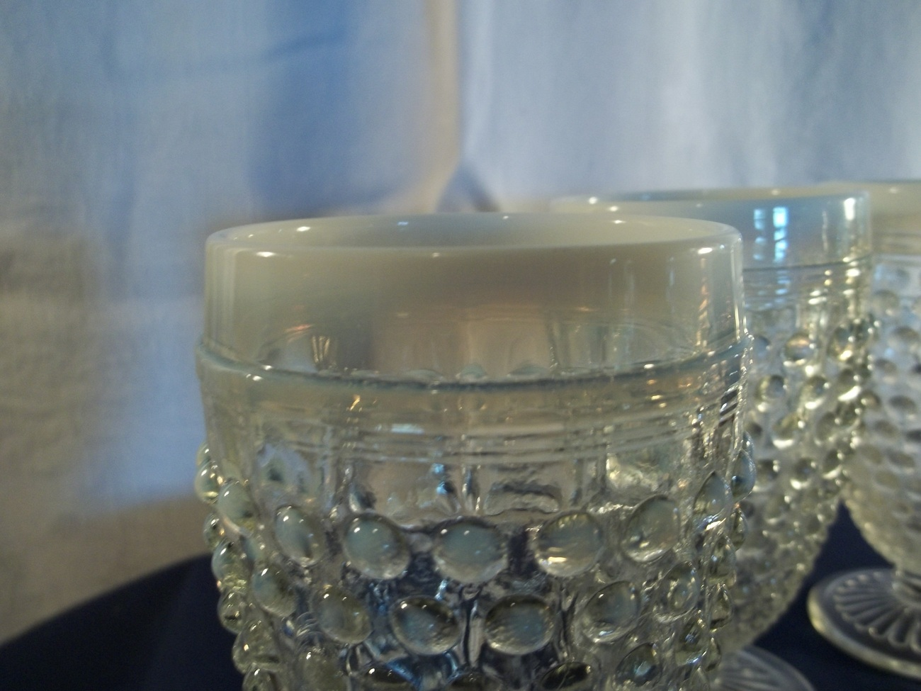 "MOONSTONE 5-1/2"" GOBLETS - SET OF FOUR"