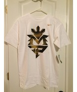 RARE Manny Pacquiao White and Gold MP Nike Graphic T Shirt Size Medium - $8.99