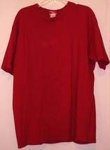 H O T  * T-SHIRT * RED - 100% COTTON - EXTRA LARGE - SHORT SLEEVES - $5.99