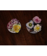STANFORD  * FINE BONE CHINA *  ( TWO SMALL FLOWER VASE )  MADE IN ENGLAND - $14.99