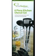 CHEF-VENTION  * 6 PIECE KITCHEN UTENSIL SET * BRAND NEW - NEVER USED - $11.99