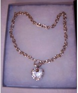 HEART AND CHAIN  *** HEART 1 INCH - CHAIN 16 INCHES - $9.99