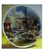WINTER # 1  COLLECTORS PLATE BY VAN HUNNICK MADE IN HOLLAND.. 9 INCHES R... - $17.99