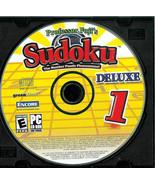 PROFFESOR  FUJI'S  * SUDOKU *  PC GAME FOR WINDOWS - $3.00