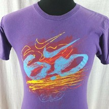Nike 6.0 Skater Mens Small Purple Graphic Tee Shirt Logo Front and Back - $15.00