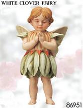 Retired Cicely Mary Barker White Clover Flower ... - $35.98