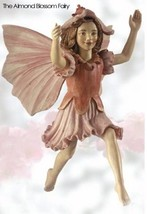 Retired Cicely Mary Barker Almond Blossom Flower Fairy Ornament  Figurin... - $52.98