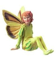 Retired Cicely Mary Barker Dandelion Flower Garden Fairy Ornament Figuri... - $48.98