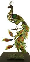 Peacock Metal Sculpture - $65.00