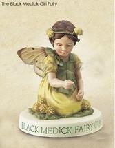 Cicely Mary Barker Black Medick Girl Flower Garden Fairy Figuerine on Ba... - $24.95