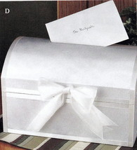 Greeting Card Treasure Chest Wedding Shower Party Card Box - €43,71 EUR