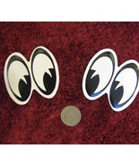 Right & left facing decals cute funny eyes facing right or left - $9.98