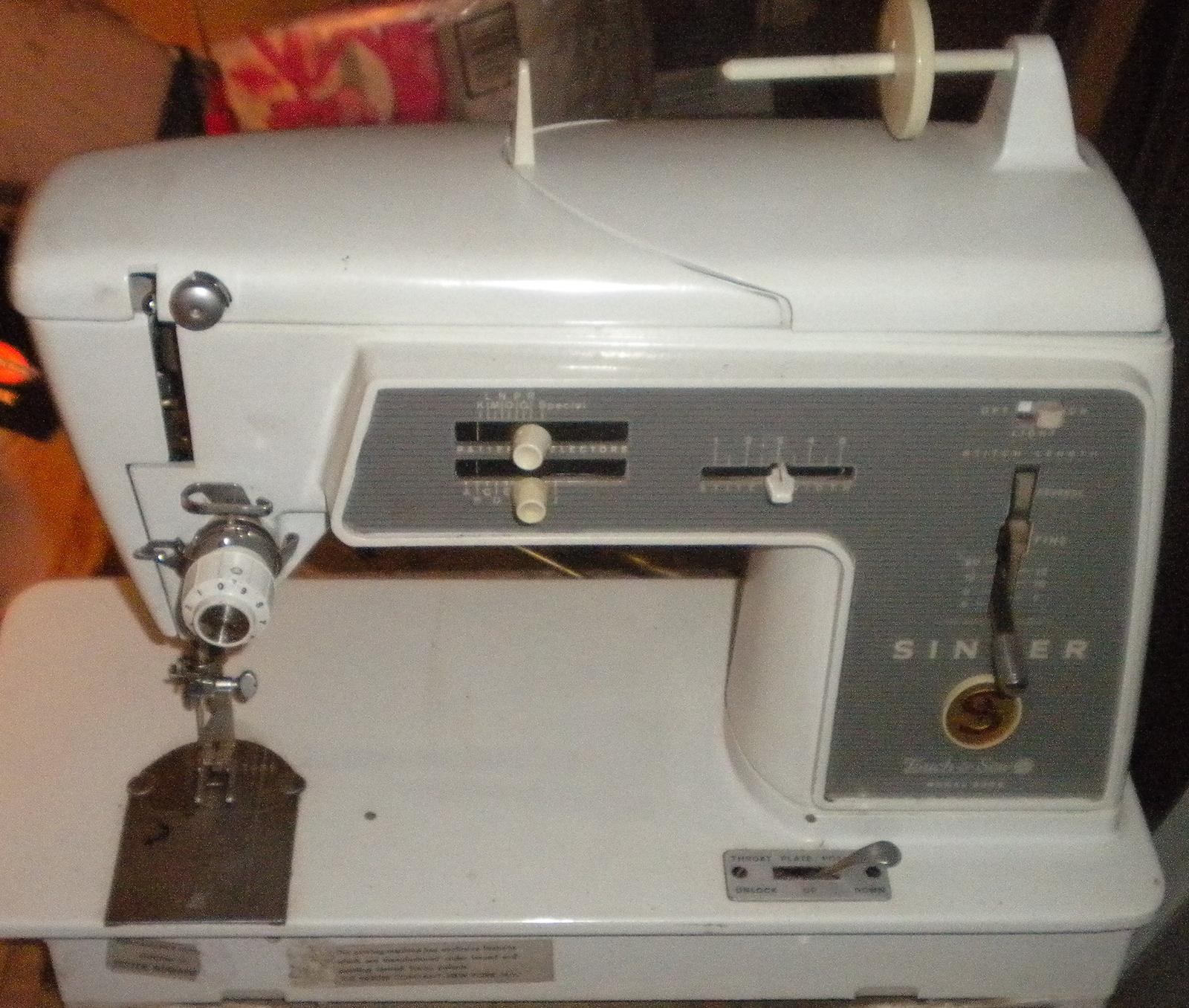 finishing sewing machine