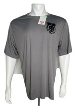 Asylum 13 Cigar Shirt Men XL Gray Black Print Sport Graphite Collectible... - $48.99
