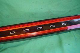 2013-15 Dodge Dart Trunk Lid Center Tail Light Taillight Lamp Panel NON-LED image 3