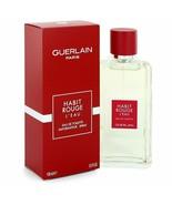 Habit Rouge L'eau by Guerlain Eau De Toilette Spray for Men - $34.99+