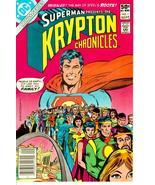 KRYPTON CHRONICLES #1 (DC Comics, 1981) ~ Superman - $1.00