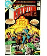 KRYPTON CHRONICLES #2 (DC Comics, 1981) ~ Superman - $1.00