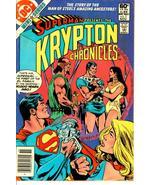 KRYPTON CHRONICLES #3 (DC Comics, 1981) ~ Superman - $1.00
