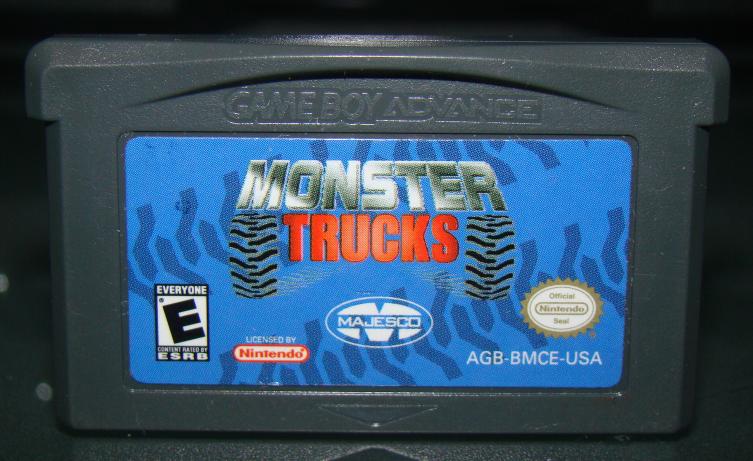 Nintendo GAME BOY ADVANCE - MONSTER TRUCKS (Game Only) image 2