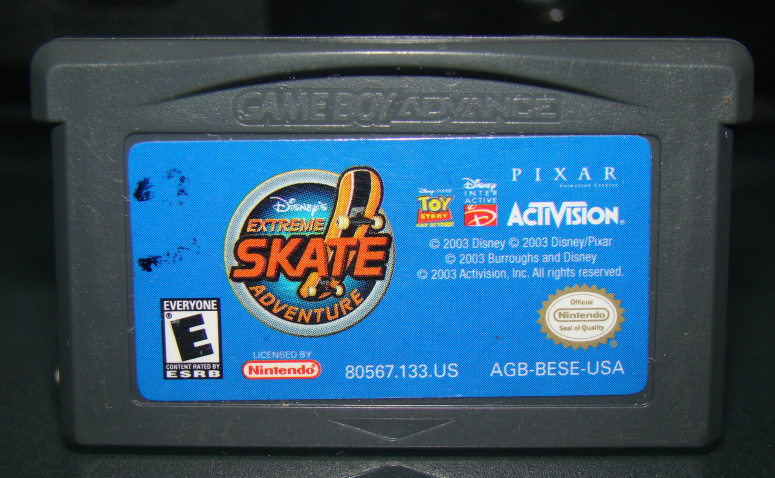 Primary image for Nintendo GAME BOY ADVANCE - Disney's EXTREME SKATE ADVENTURE (Game Only)