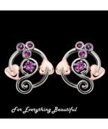 Origin Purple Amethyst Welsh Rose Gold Detail S... - $285.00