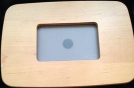Longaberger Media Basket Lid or Picture Frame ~ Warm Brown - $10.78