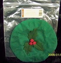 Longaberger Caroling Basket Fabric  Lid COVER ~Ivy - $12.68