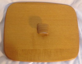 Longaberger 1998 Collectors Club Harbor Basket Lid New in Package - $18.57