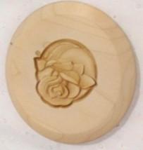 Longaberger 2004 Bee Basket Lid with Rose Embossed Design - $12.68