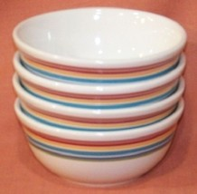Longaberger Sunny Day Set -4 Soup and Salad Bowls - $32.33