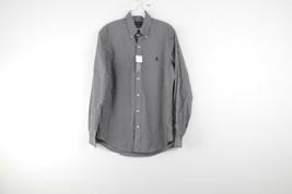 New Polo Ralph Lauren Mens Small Classic Fit Long Sleeve Plaid Button Down Shirt - $54.40