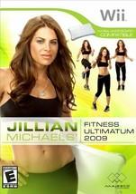 Jillian Michael's Fitness Ultamatum 2009 - Nintendo Wii - $7.12