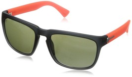 Electric Visual Knoxville Sunglasses Mod Black Warm Red Frame Melanin Gr... - $69.22