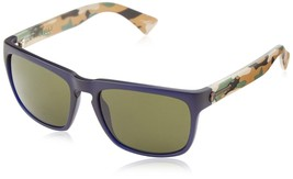Electric Knoxville Sunglasses Blue Jungle Frame Melanin Grey Lenses EE09... - $69.22