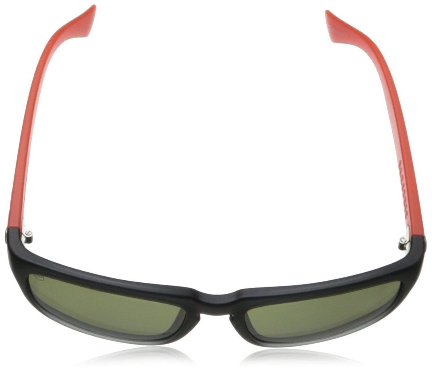 7dd17ce6ab0a Electric Visual Knoxville Sunglasses Mod Black Warm Red Frame Melanin Grey  Lens