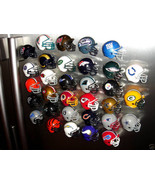 TEAM FOOTBALL HELMET 3D FRIDGE REFRIGERATOR STRONG MAGNET - PICK YOUR TEAM! - $6.20