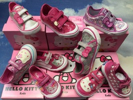 Keds Hello Kitty Velcro Sneakers Collection Toddler Size 5 to 12 - $25.00+